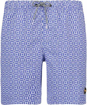 Shiwi Badeshorts Print Blau