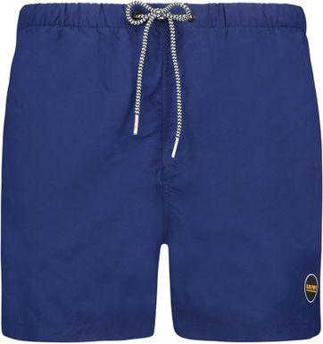 Shiwi Badeshorts Solid Mike Navy Blau