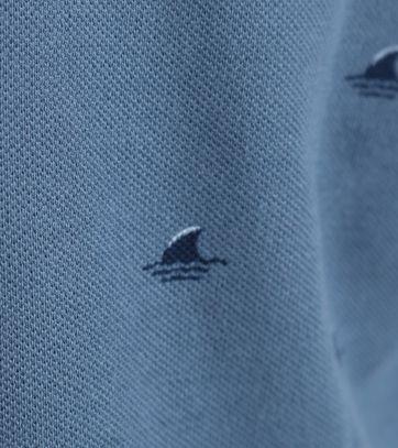 Detail Shiwi Polo Blauw
