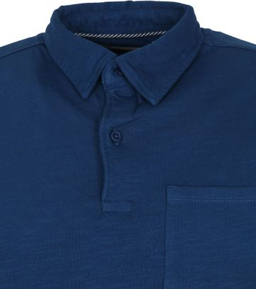 Shiwi Polo Shirt James Dark Blue