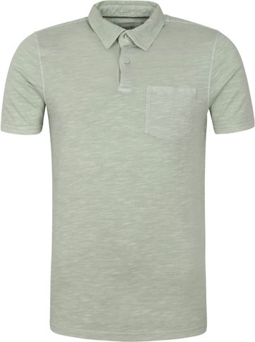 Shiwi Polo Shirt James Light Green