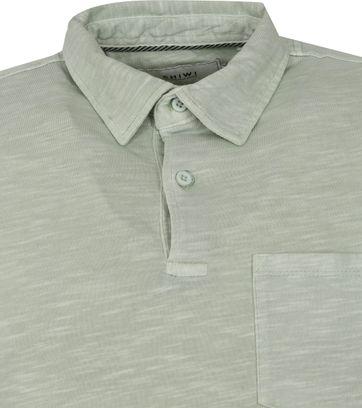 Shiwi Polo Shirt James Light Green