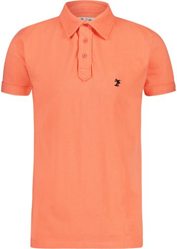 Shiwi Poloshirt Men Neon Orange