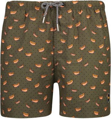 Shiwi Swimshorts Hotdog Dark Green