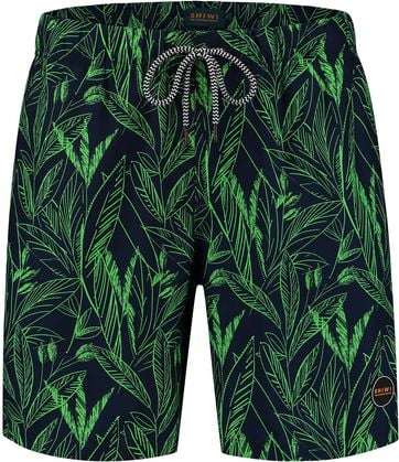 Shiwi Swimshorts Leaves Green