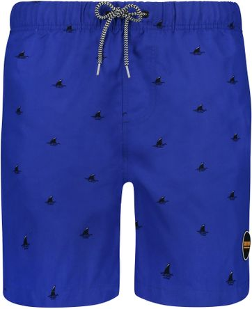 Shiwi Swimshorts Sharks Blue