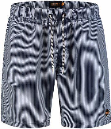 Shiwi Swimshorts Stripes Dark Blue