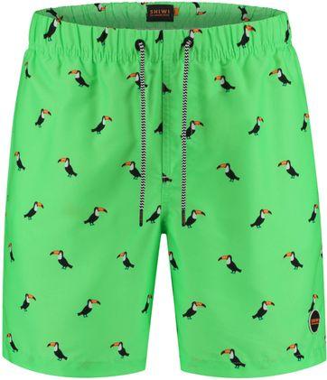 Shiwi Swimshorts Tucan Neon Green