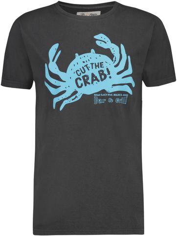 Shiwi T-Shirt Cut The Crab Antraciet