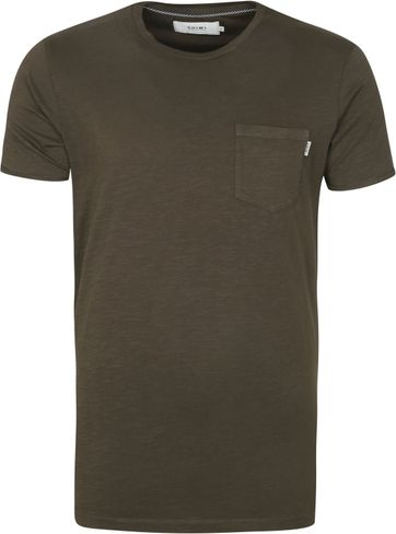 Shiwi T Shirt Marc Dark Green