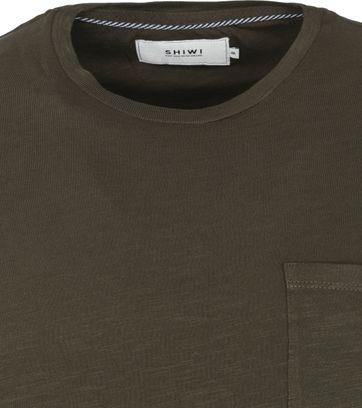 Shiwi T Shirt Marc Dark Green