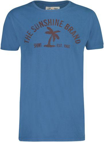Shiwi T-Shirt Sunshine Blauw