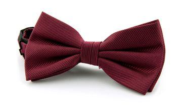 Silk Bow Tie Bordeaux F31