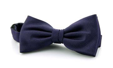 Silk Bow Tie Dark Purple F62