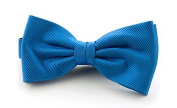 Silk Bow Tie Light Kobalt F19