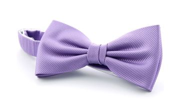 Silk Bow Tie Lila F26