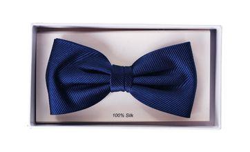 Silk Bow Tie Navy F35