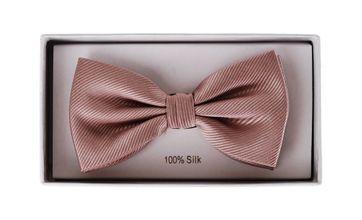 Silk Bow Tie Silk Taupe F69