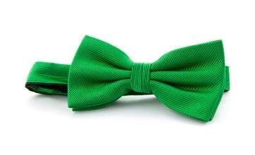 Silk Bow Tie Smaragd Green F68