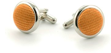 Silk Cufflinks Gold F13