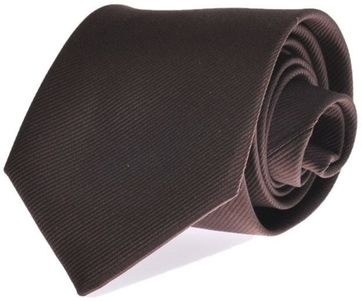 Silk Tie Brown F45