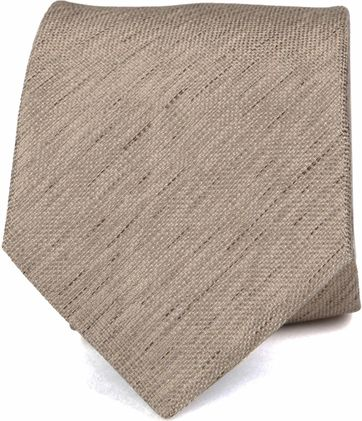 Silk Tie Brown K82-1