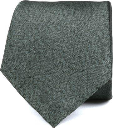 Silk Tie Dark Green K82-20