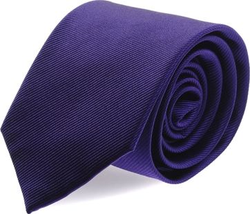 Silk Tie Deep Purple F55