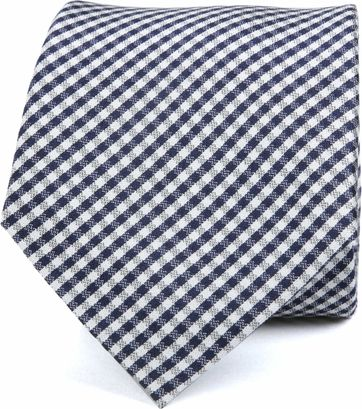 Silk Tie Dessin Checks K82-3