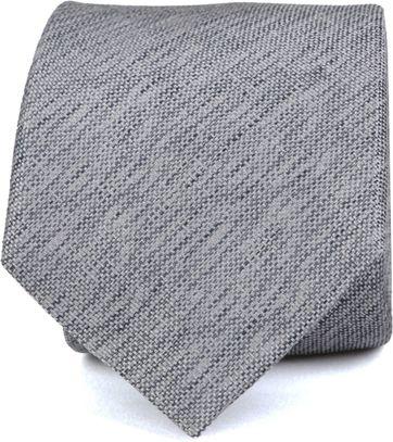Silk Tie Grey K82-1