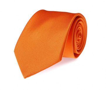 Silk Tie Orange F01