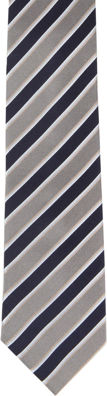 Silk Tie Stripes F82-10