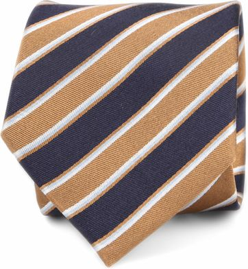 Silk Tie Stripes F82-11