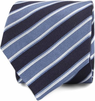 Silk Tie Stripes F82-12
