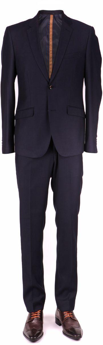 Skinny Fit Kostuum Navy