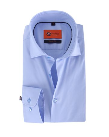 Skinny Fit Overhemd Lichtblauw
