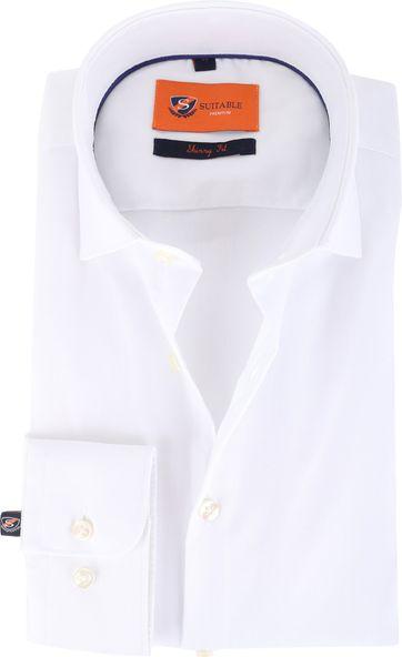 Skinny Fit Overhemd Wit 132-2