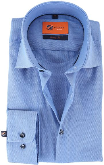 Skinny Fit Shirt Oxford Blue 132-3