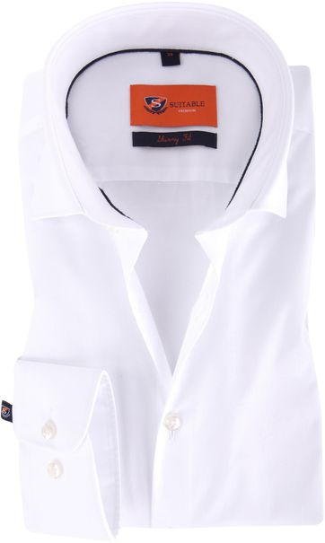 Skinny Fit Shirt White
