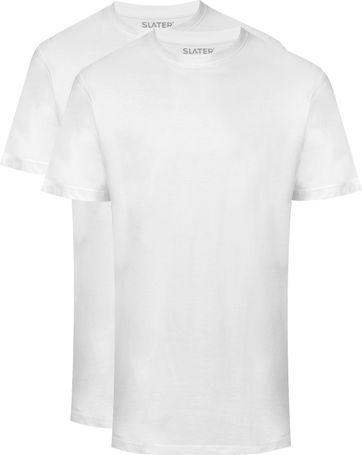 Slater 2-pack American T-shirt White