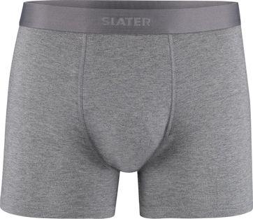 Slater 2-Pack Bamboe Boxershorts Grijs