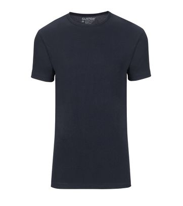 Slater 2-pack Basic Fit T-shirt Navy