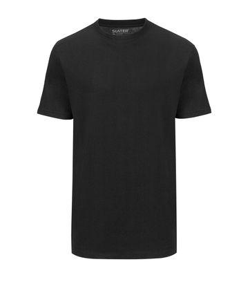 Slater 2er-Pack American T-shirt Schwarz