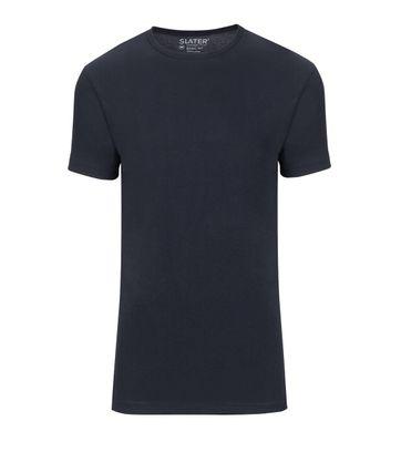 Slater 2er-Pack Basic Fit T-shirt Dunkelblau