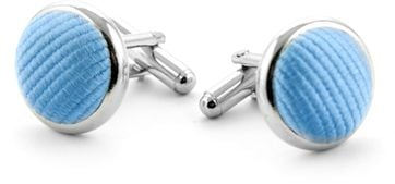 Slik Cufflinks Blue F02