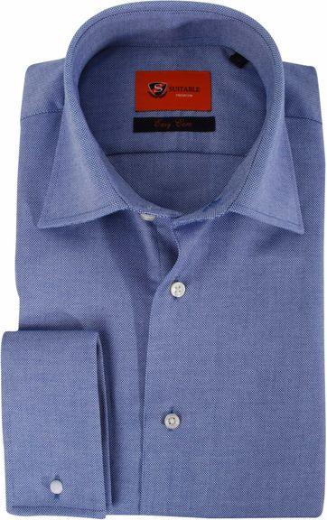 Strijkvrij Overhemd Derby Blue DM