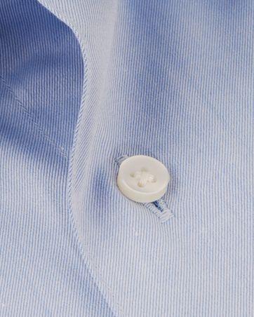 Detail Strijkvrij Overhemd Lichtblauw DM
