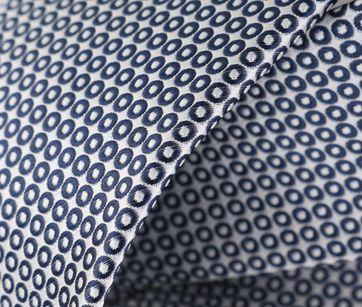 Detail Stropdas Donkerblauwe Punt
