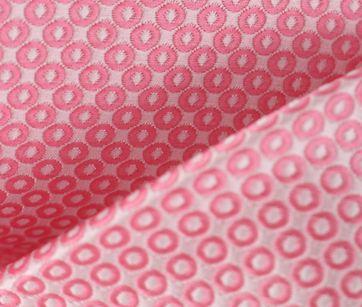 Detail Stropdas Roze Punt