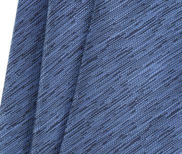 Detail Stropdas Zijde Blauw 9-17